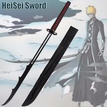 Bleach Kurosaki Ichigo Cosplay Anime Sword  Bankai Mugetsu Katana Japanese Swords Carbon Steel