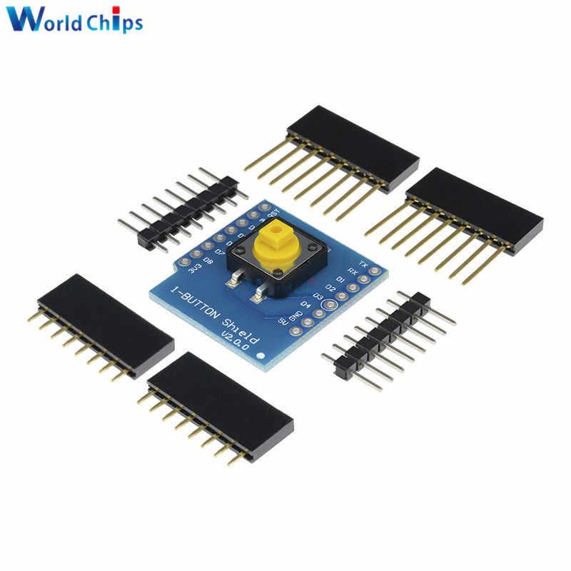 Kit de bricolage 0.66 ''OLED bouton moteur pilote Micro SD/TF SHT30 Proto carte ESP8266 D1 Mini Pro WiFi développement NodeMcu pour WeMos D1