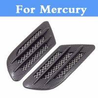 Car Styling 15D Shark Gill Side Air Vent Fender Cover Sticker For Mercury Mountaineer Sable Metrocab