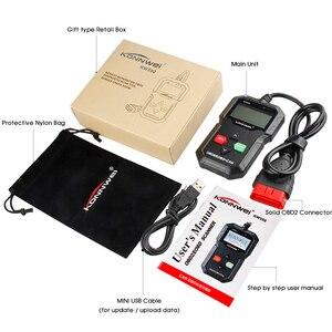 Image 5 - OBD2 Automotive Scanner KW590 OBDII Code Reader Auto Diagnose Werkzeug Schalten Motor Licht Freies Update Auto Code Reader PK ELM327