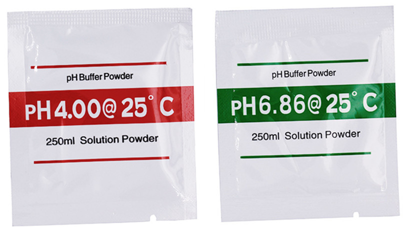 20bags/lot PH Buffer Powder For PH Test Meter Measure Calibration Solution 4.00 6.86 Calibration Point