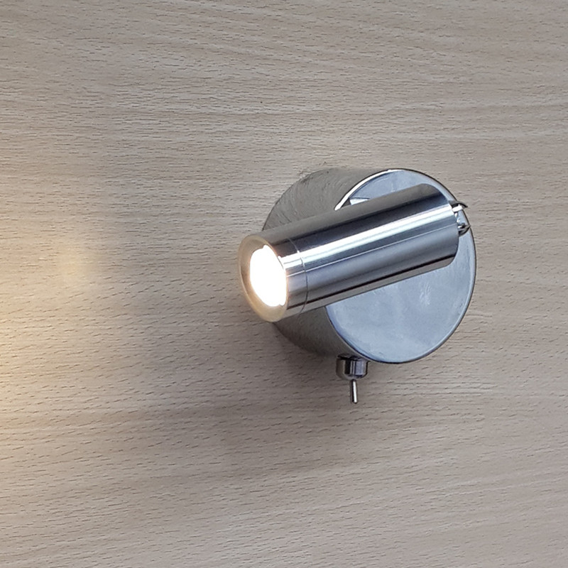 ФОТО Surface mounted LED Passage Lamp Flexible joint Edison LED 3W 200lm Universal Volts high rendering Ra>85 Comfortable light