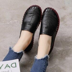 Image 5 - GKTINOO 2020 mode femmes chaussures en cuir véritable mocassins femmes chaussures décontractées doux confortable chaussures femmes chaussures plates