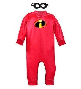 Image 2 - Disfraz de Jack para bebé, disfraz de Halloween, disfraz de Mr. Incredible 2, traje de Mono para adulto, Cosplay para niños pequeños