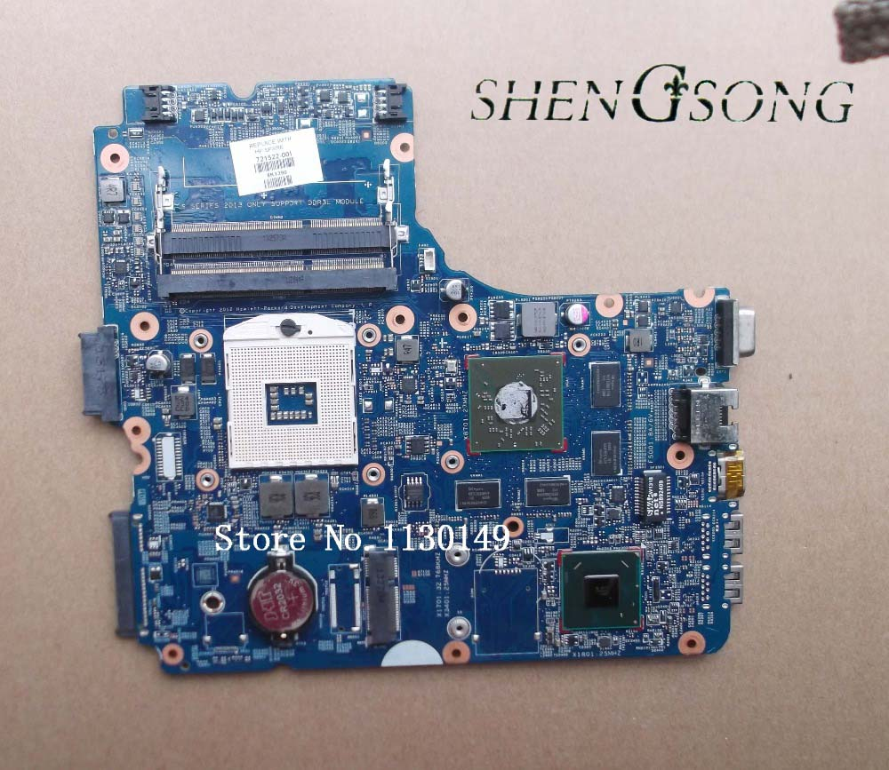 for HP ProBook 440 470 450 G0 Notebook 721522-001 721522-501 721522-601 for HP 440 450 470 Notebook motherboard 8750M 2GB 574680 001 1gb system board fit hp pavilion dv7 3089nr dv7 3000 series notebook pc motherboard 100% working