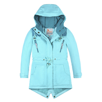 2019 New Kids Girls Winter Coat Parka Cotton Padded Coat Jacket Kids Winter Jacket Girl Winter Clothes Kids Snowsuits Winter