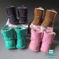 Кукла Аксессуары 7 см Овчины Для BJD Куклы, Мини-Куклы обувь для 1/4 BJD ccessories & 16 Дюймов 40 см Шарон кукла сапоги