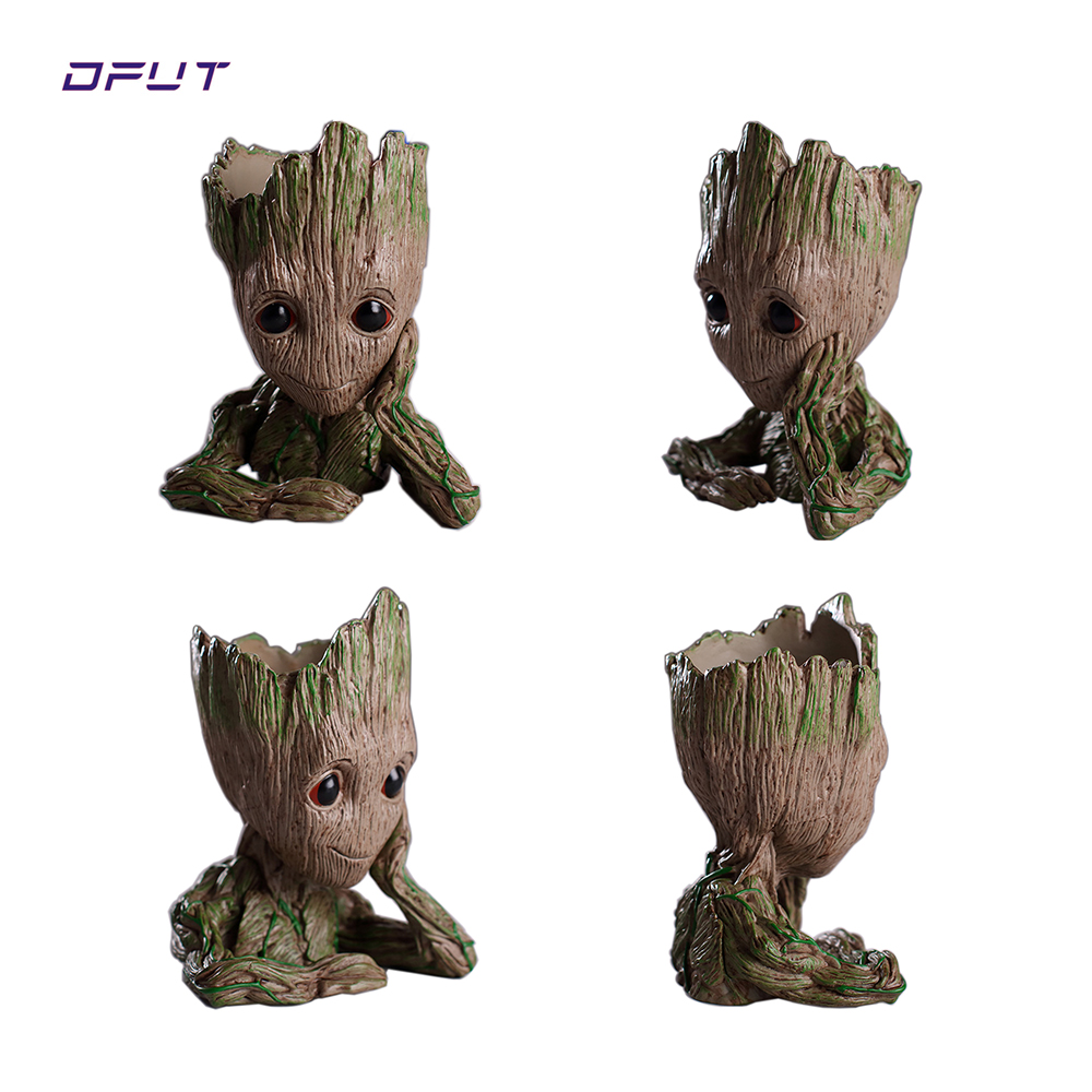 Action Figur Baby Grootted Puppe Baum Mann Grootted Guardians Of The Galaxy Avengers Blumentopf Action-figuren Hause Dekoration Spielzeug