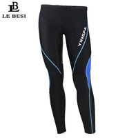 2017 LEBESI Men Swimming Trunks Double Waterproof Long Pants Boxer Swimwear Men's Swimsuits Plus Size Shark Sportswear Beachwear