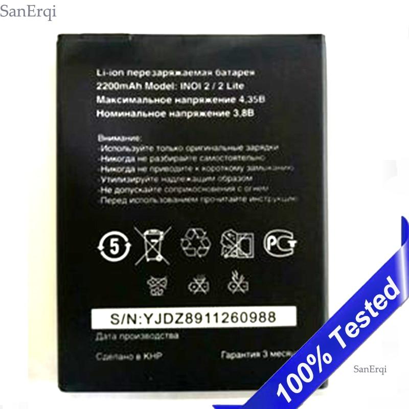 PCS Para INOI 1 2 INOI2 Lite Lite 2500mAh Da Bateria Original Do Telefone Móvel Inteligente em Estoque