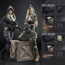 Full set with head and body 1/6 VERYCOOL VCF-2035 Villa Sister Flower Female Solider Figure Collection Doll Toys Gift