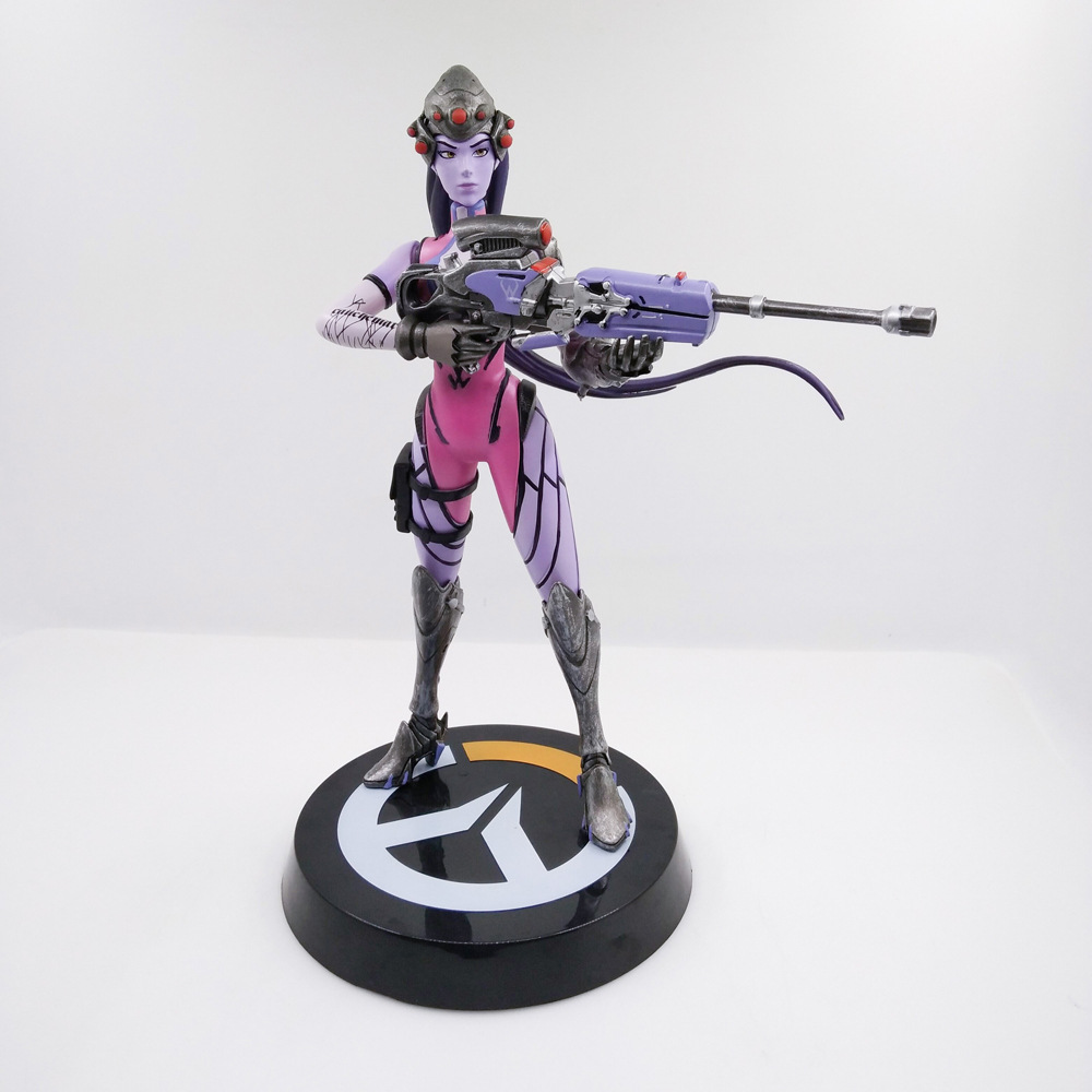 25cm Japanese anime figure ow Widowmaker Amelie Lacroix action figure collectible model toys for boys union creative no 15 gantz shimohira reika action figure 25cm japanese classic anime figure detachabl collectible model toys