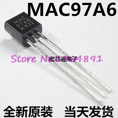 4pcs/lot MAC97A6 97A6 TO-92 In Stock