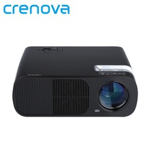 Crenova XPE600 Brightness 2600Lumens Long life LED Full HD LED Business Travel Outdoor projector For TV Computer Mobile Phone