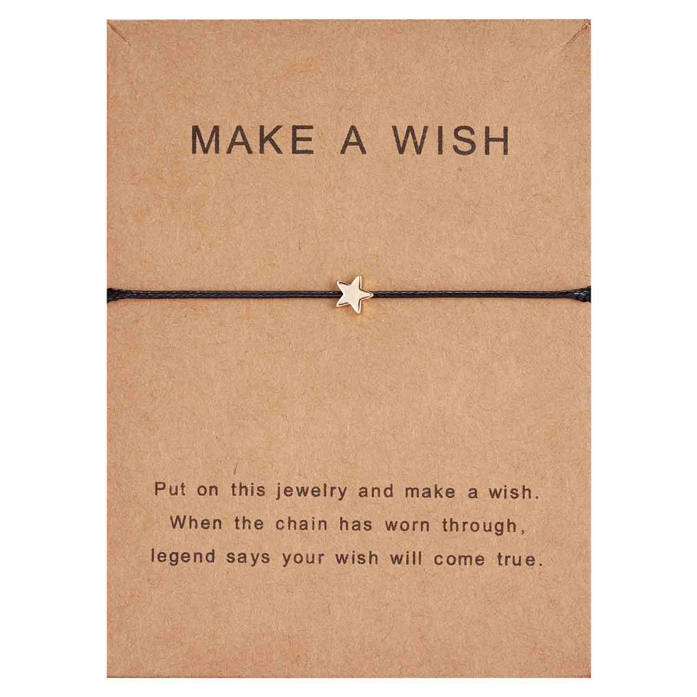 Rinhoo модный тканый регулируемый браслет с картой Бесконечность любовь Золотая Корона Звезда очаровательный браслет для девочек ювелирные изделия Прямая - Окраска металла: 6