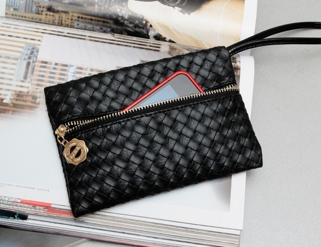 2012 spring knitted small bags coin pocket , free shipping