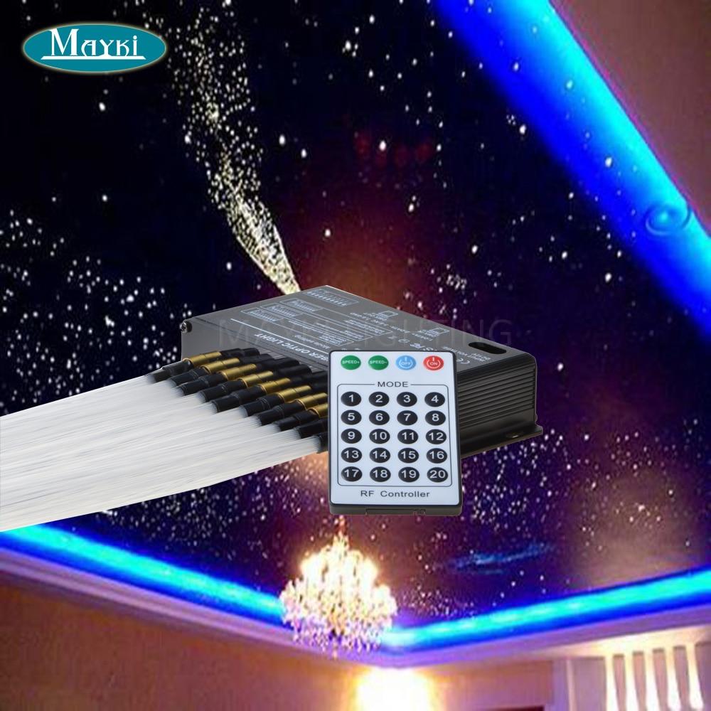 DIY fibre optic star ceiling with 5W 12V DC LED+200pcs 0