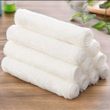 10Pcs Bamboo Wipes Kitchen Dishcloths Cleaning Dish cloth Nonstick Oil Lint-Free Wiping Rags Magic Cleaning Dishrags