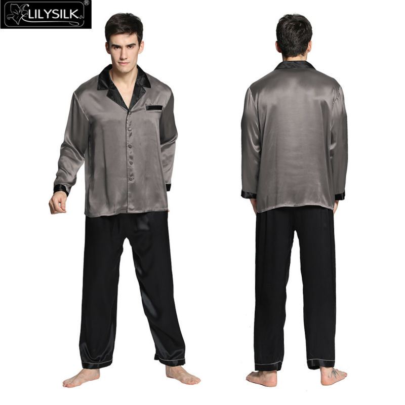 1000-dark-gray-22-momme-deep-contra-silk-pyjamas-set-for-men