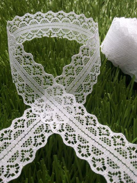 10 ярдов комфортно кружево лента украшение своими руками 30 мм ширина белый