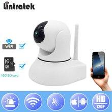 hot deal buy lintratek surveillance ip camera wifi hd 720p security video camara 16g tf card motion detection baby monitor