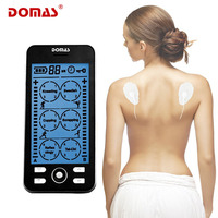 DOMAS 2 channel TENS Unit Electronic Pulse Massage 24 mode ElectroTherapy device pulse massager