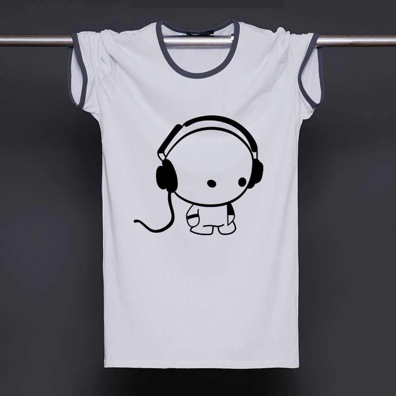The music t shirts mens short sleeve cotton o neck man t Music shirt design ideas