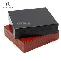 GALINER Spanish Cedar Wood Travel Cigar Humidor Magnets Hygrometer Humidifier For Cohiba Cigars Christmas Desktop Humidor Box