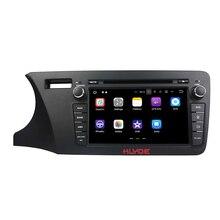 """Klyde 2 DIN 8 """"Android 7.1 Автомобильный Мультимедийный Плеер для Honda City 2014 оставили автомобиль Радио стерео 4 ядра dvd-плеер аудиомагнитолы автомобильные"""