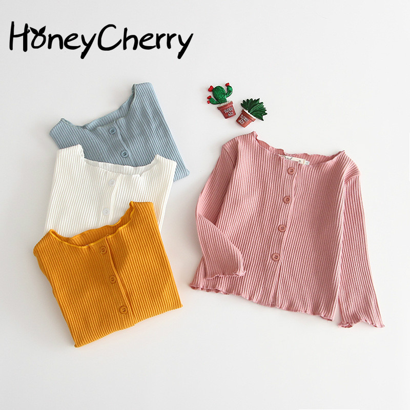Candy-colored Jacket For Autumn Girls In 2019 Baby Girl pink Coat Newborn Baby Girl Jackets(Note:don't have bag,only cloth)(China)