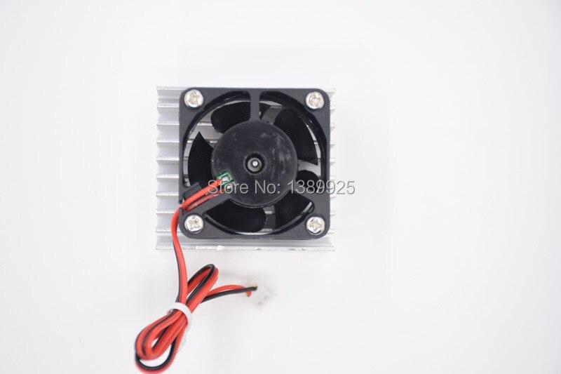 Вентилятор охлаждения + радиатор алюминиевый радиатор для 0-30V 2mA - 3A Регулируемый DC Регулируемый источник питания DIY Kit