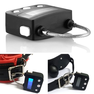 Image 2 - Multipurpose Time Lock For Ankle Handcuffs Mouth Gag Electronic Timer Bondage
