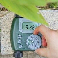 Outdoor Garden Irrigation Controller Solenoid Valve Timer Single Outlet Programmable Hose Faucet Timer