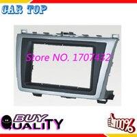 High Quality 2 DIN Car Radio Fascia for Mazda 6 Atenza 2009 2013 DVD Stereo Installation Panel Trim
