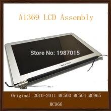 "Original 2010-2011 For Apple Macbook Air 13"" A1369 LCD Screen Display Assembly Replacement MC503 MC504 MC965 MC966"