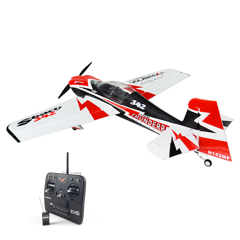 цены Volantex EPO Sbach 342 RC RTF Plane Model W/ Brushless Motor Servo ESC Battery
