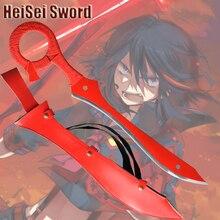 Косплей Убить ла Убить Sword Японское Аниме Игры Настоящее Катана Углеродистой stee