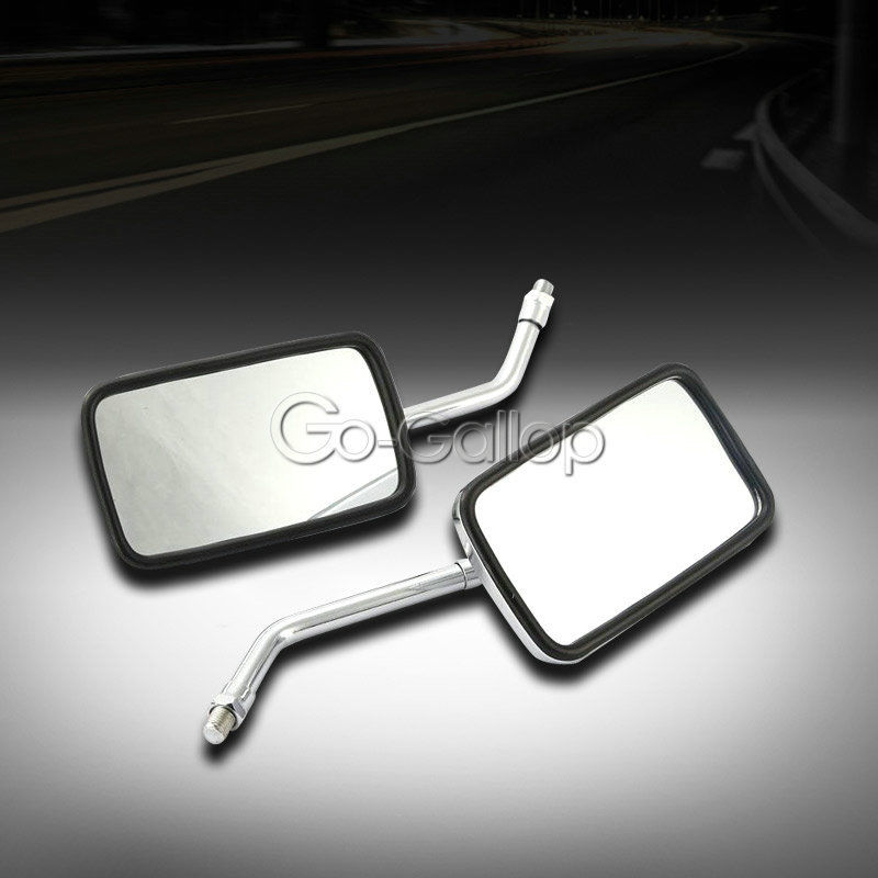 Chrome Motorcycle Rearview Side Mirror for Honda Shadow VT 1100 750 Tourer Sabre