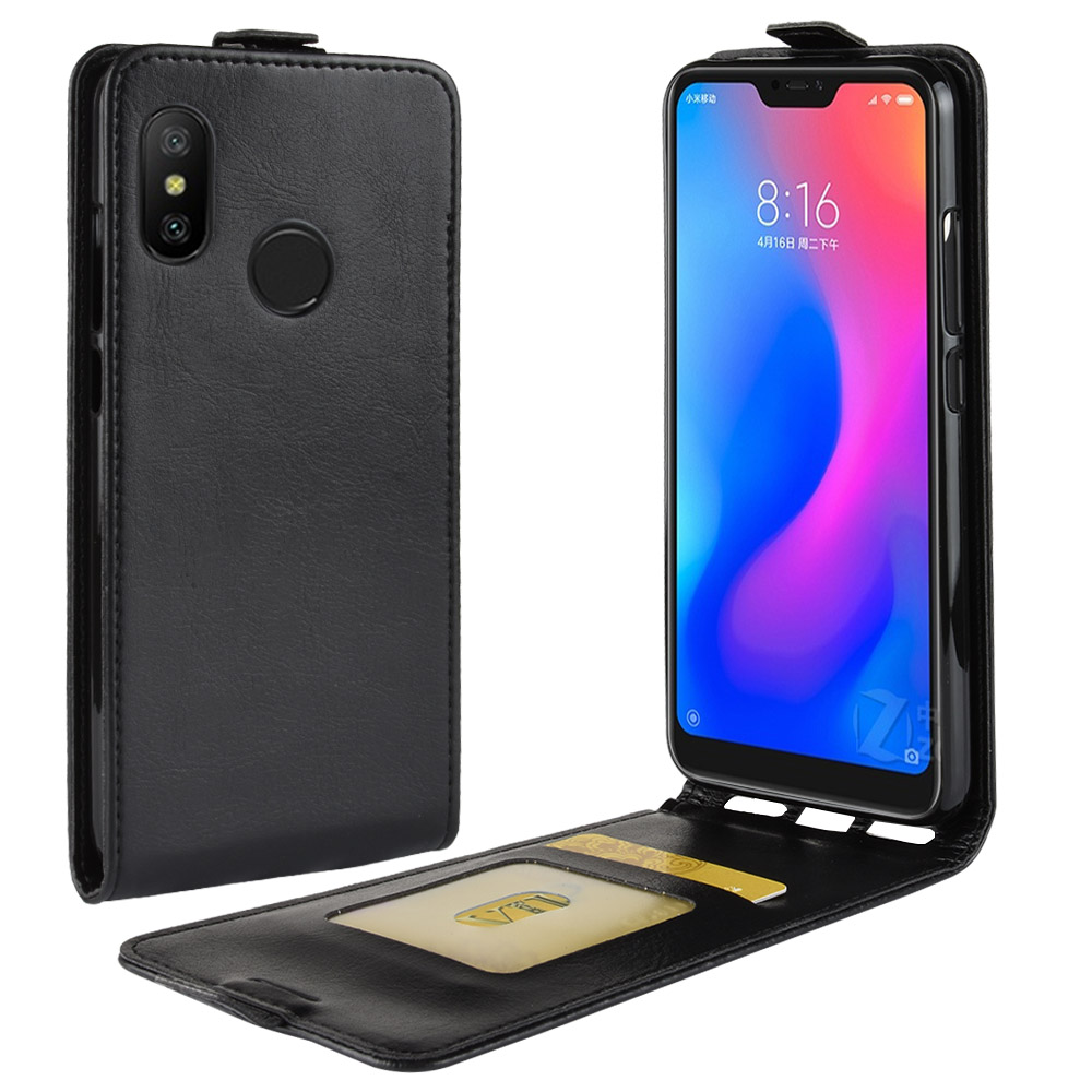 Luxury PU Leather Flip <font><b>Case</b></font> <font><b>Vertical</b></font> Open Down Up For <font><b>Xiaomi</b></font> <font><b>Mi</b></font> A2 Lite Redmi Note 7 5 6 Pro 6A Go Mix 2 2S <font><b>Mi</b></font> <font><b>8</b></font> Lite <font><b>Mi</b></font> 9 Coque image