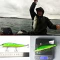 SEALURER 1PCS 14cm 23g Fishing Lure Minnow Hard Bait With Three Fishing Hooks Fishing Tackle Wobbler 3D Eyes Crankbait