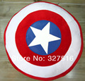 The Avengers Toys Superheroes Captain America 2 Shields  Plush Pillow  Doll Toys Classic Toys  Free Shipping