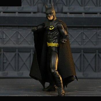 ¡NECA 1989 Batman figura de acción de Michael Keaton Ver! 25th aniversario juguete 18 cm