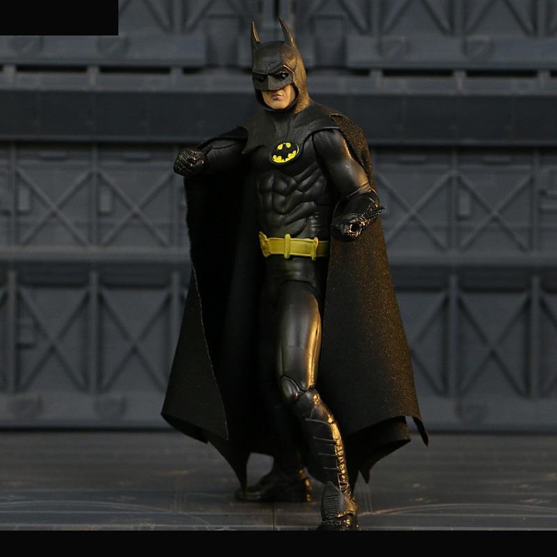 NECA 1989 Batman Action Figure Michael Keaton Ver. 25th Anniversary Toy 18cm