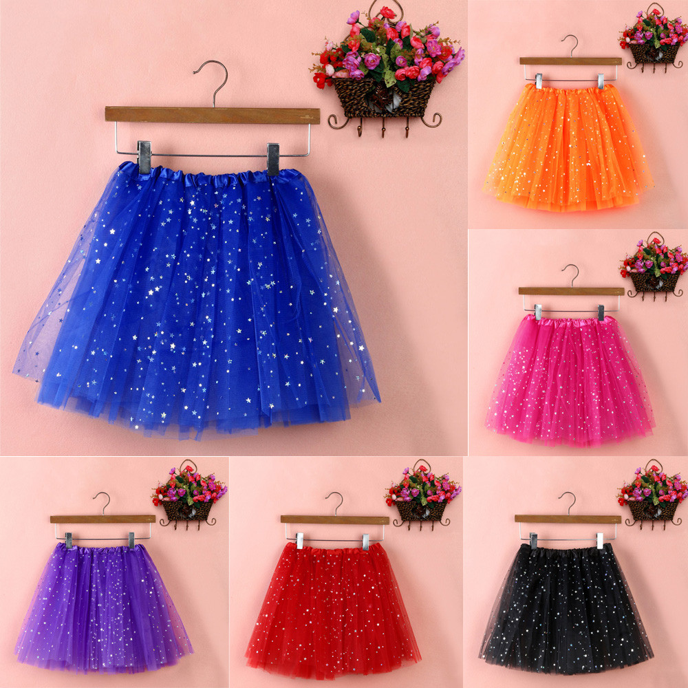 Fashion 2018 Women's Tulle Skirt Pleated Gauze Short Adult Tutu Dancing Casual Ladies Skirts In Eleven Colour