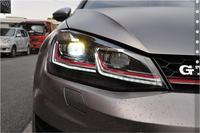 Golf7 headlight,2017~2018,for LHD,car accessories,Golf7 fog light,Gol,Golf,CC,Caddy,beetle,Toureg,sharan,vento,Golf7,Golf 7