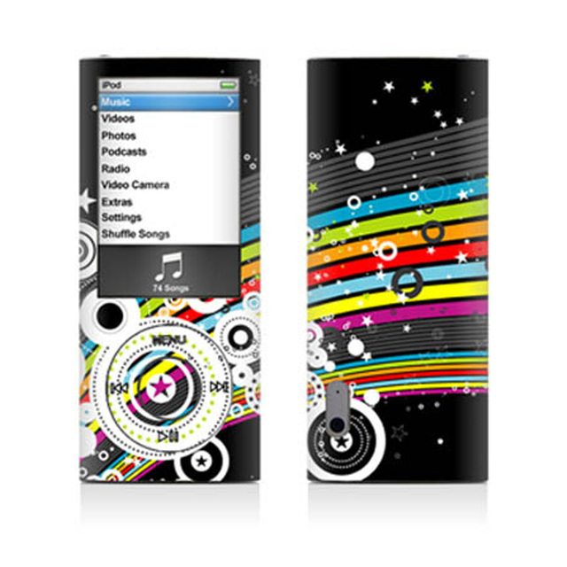 Create Your Custom For Apple IPod Nano 5G Skins Decals Covers Stickers
