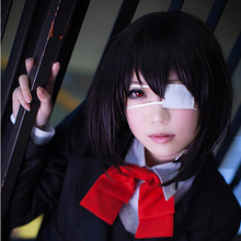 OHCOS Another Misaki Mei/Mishima Risa 12inches Black Short Hair Cosplay Wig