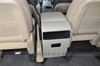 Бесплатная удар автомобиль подлокотники для автомобиля коробка, посвященная MPV H 1 вагон в деревянной из искусственной кож