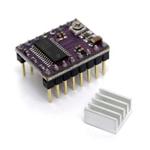 5pcs for StepStick DRV 8825 DRV8825 stepper motor driver Module Carrier for RepRap 3D printer RAMPS1.4 With Heat Sink