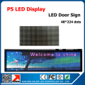Indoor P5 LED Module Full Color 5mm RGB LED Pane 64*32 Pixel RGB Sign LED Video Module 21pcs LED P5 for 53*229cm Display